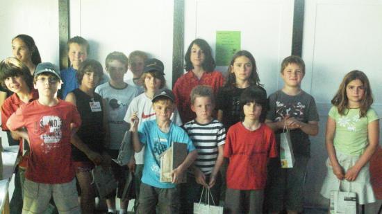 Participants et gagnants du tournoi de dames
